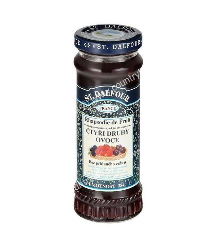 St. Dalfour Four Fruits Spread - 284g