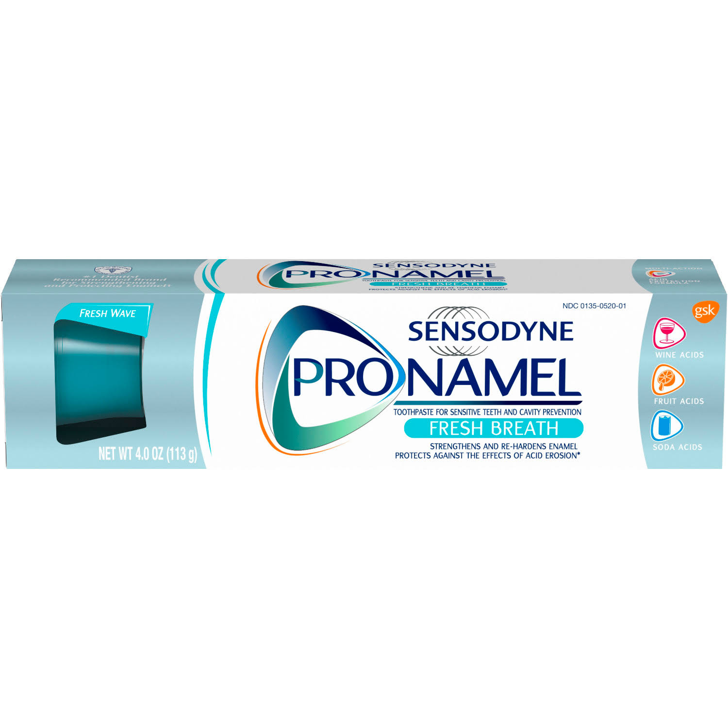 Sensodyne Pronamel Toothpaste - Fresh Breath, 113g