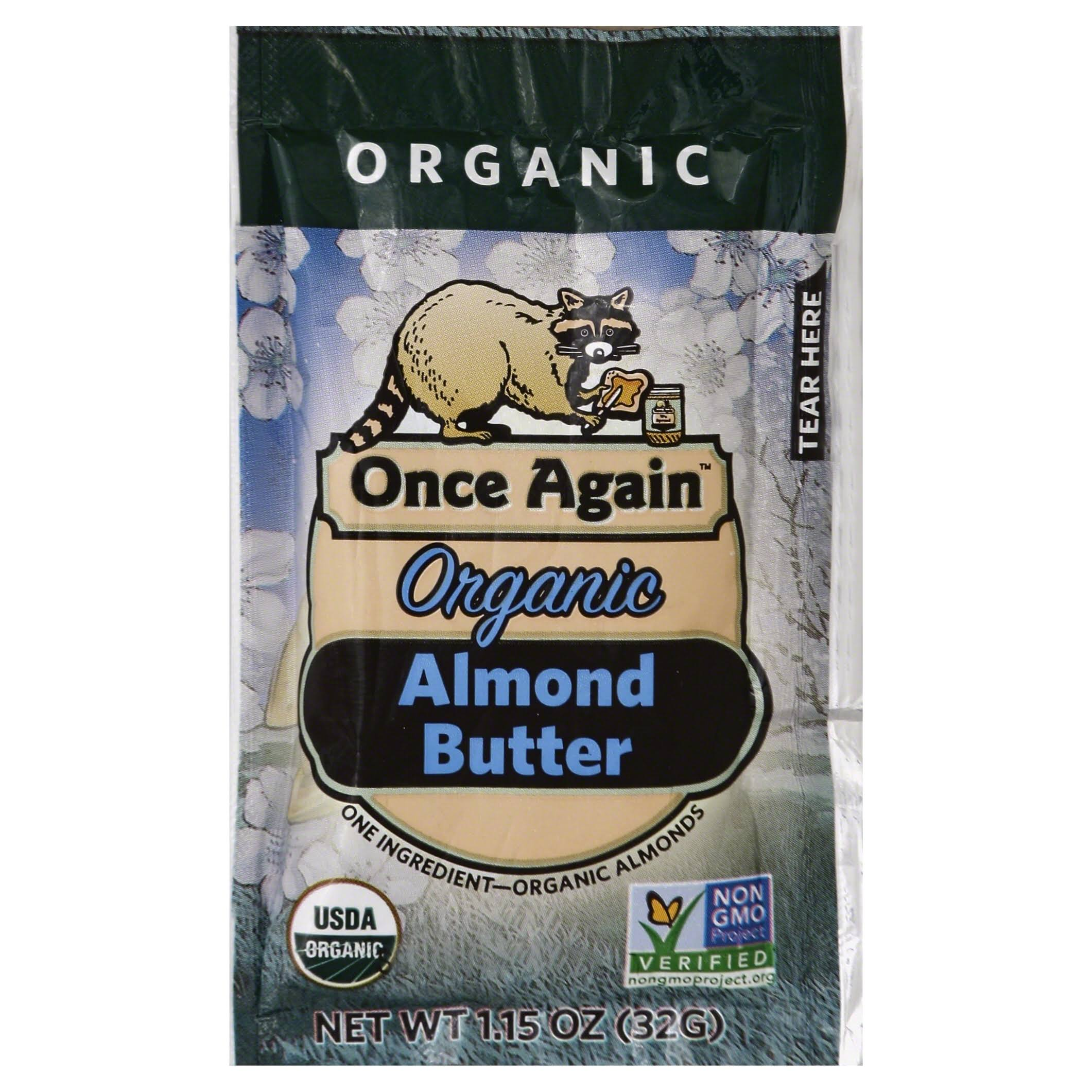 Once Again Organic Almond Butter - 1.15 oz bag