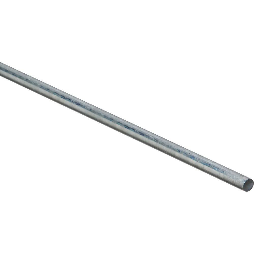 "Stanley National Hardware Plated Steel Smooth Rod - 5/16"" x 36"""