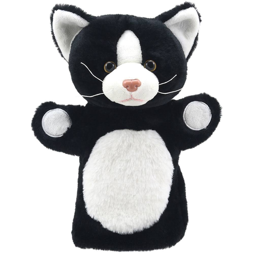 The Puppet Company Puppet Buddies Cat (Black & White)