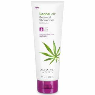 Cannacell Botanical Shower Gel, Ritual - 8 fl oz