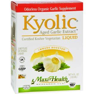 Maxi Health Liquid Kyolic Garlic Supplement - 60ml