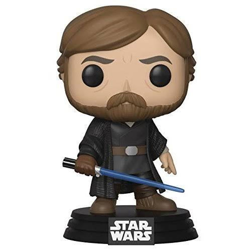 Pop Star Wars E8 Luke Skywalker Final Battle Vinyl Figure