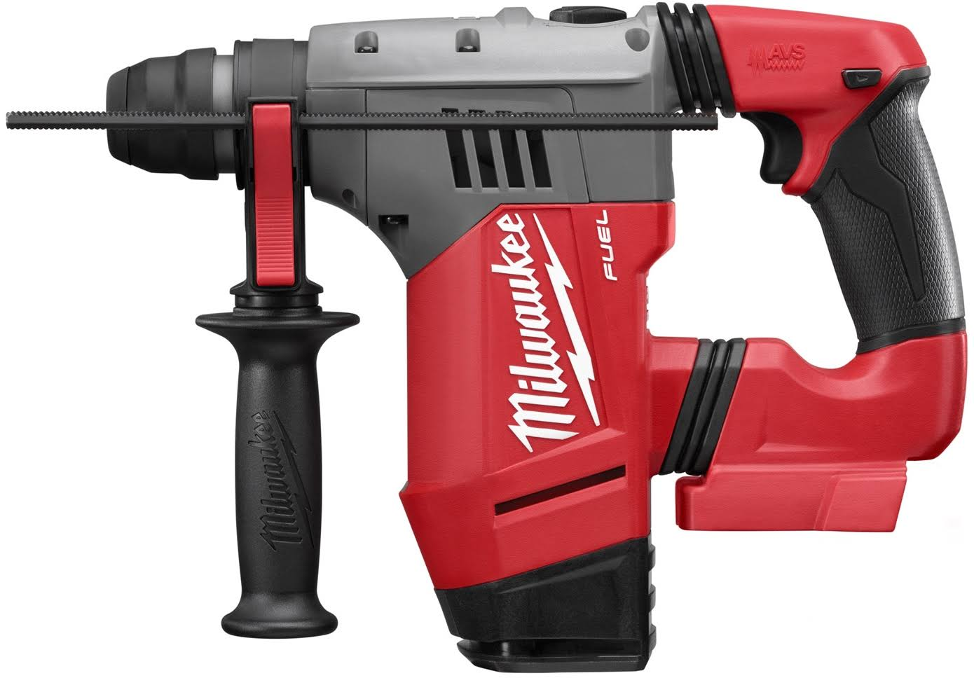 Milwaukee M18 FUEL 18 Volt Cordless Lithium-Ion Brushless SDS-Plus Rotary Hammer - 1-1/8''