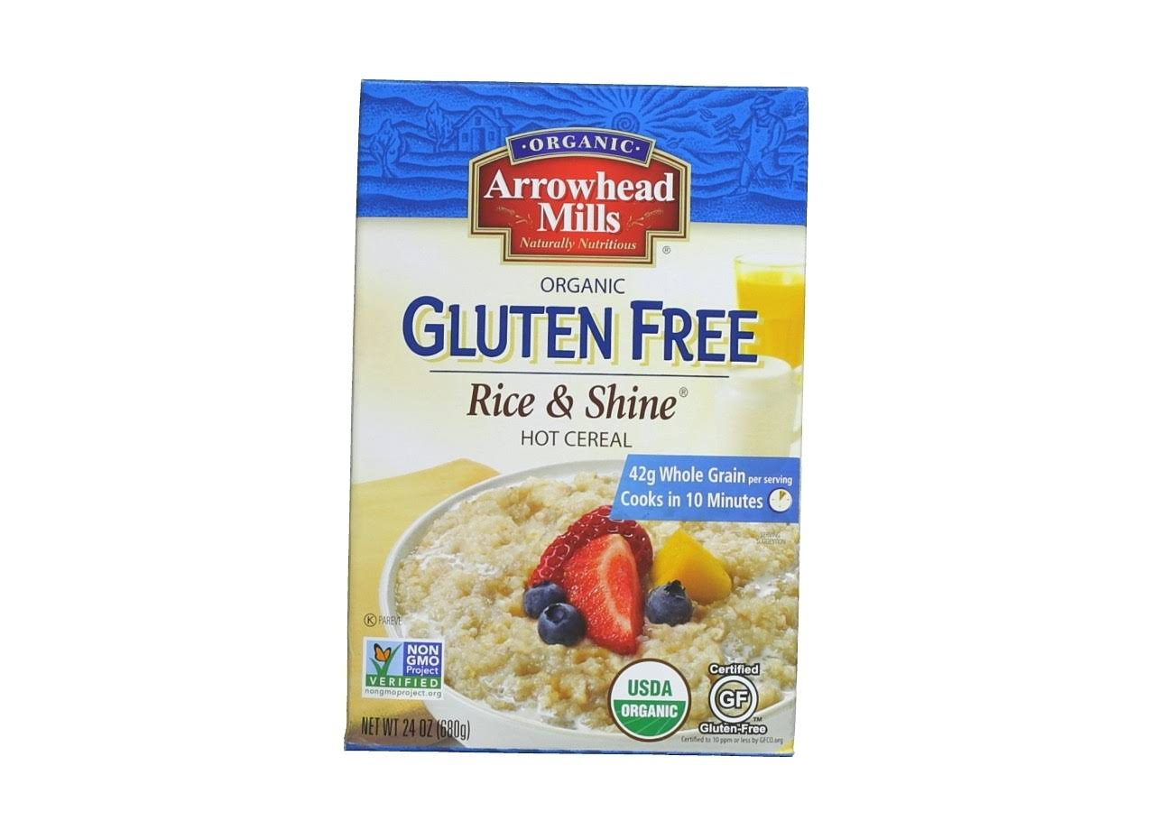 Arrowhead Mills Rice & Shine Hot Cereal - 24oz