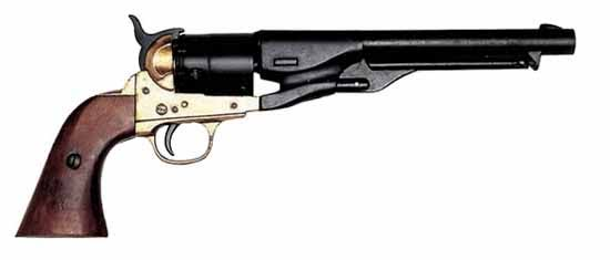 Civil War 1860 Revolver Pistol Replica