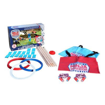 American Ninja Warrior Competition Obstacle Course Kit - 37pcs