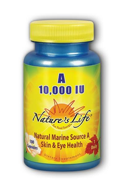 Nature's Life Vitamin A Dietary Supplement - 100 Pack