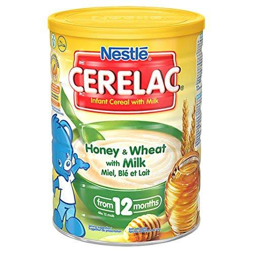 Cerelac Honey and Wheat with Milk Baby Food - 12 Months, 1kg