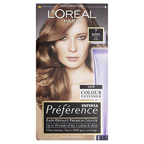 L'Oreal Preference Permanent Hair Dye - 7.0 Vienna Blonde