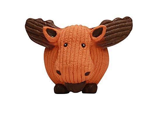 Hugglehounds Ruff-Tex Moose Squeaky Dog Toy, Large