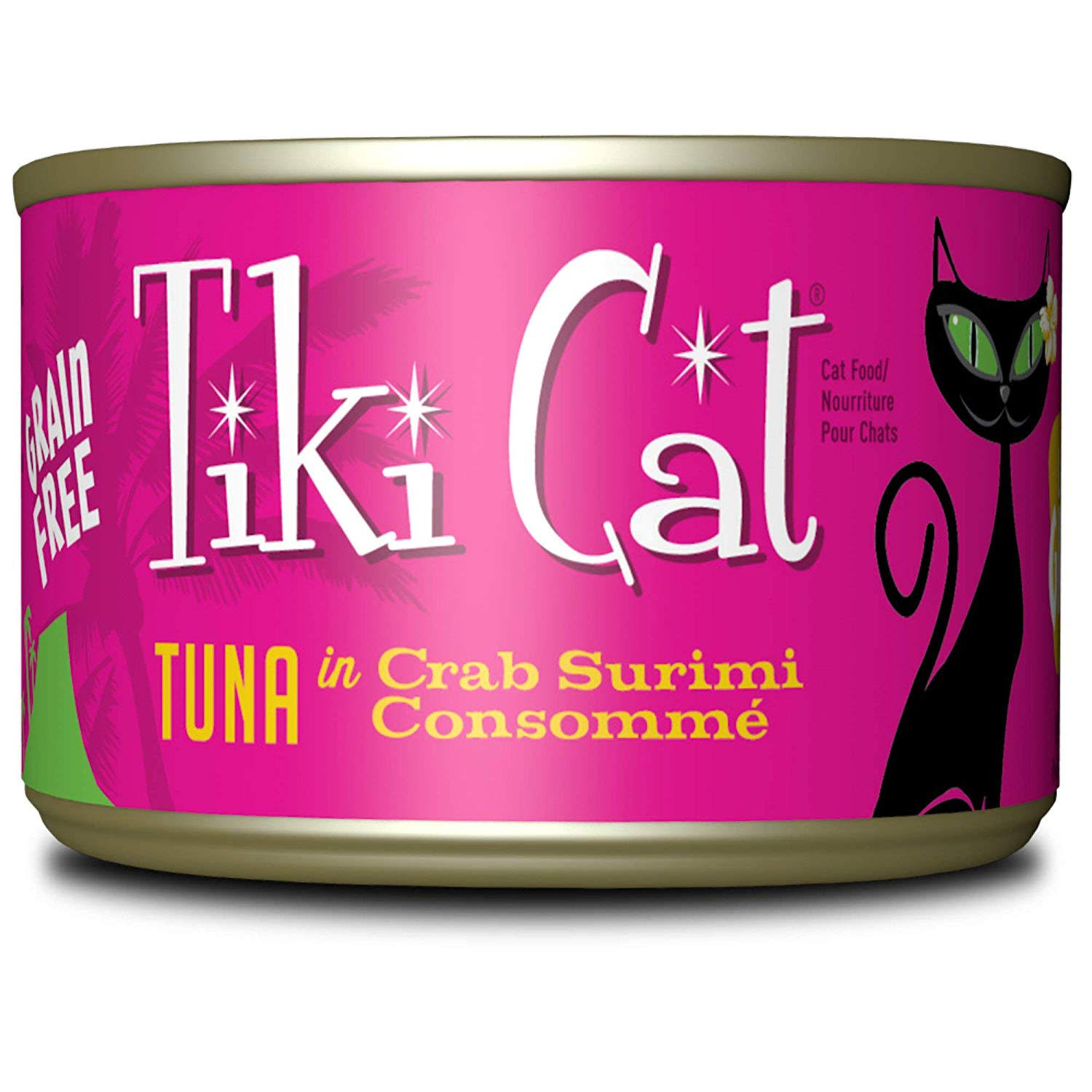 Tiki Pet Canned Cat Food Grill Lanai Tuna Crab 6oz