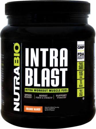Nutrabio Intra Blast - Orange Mango, 723g