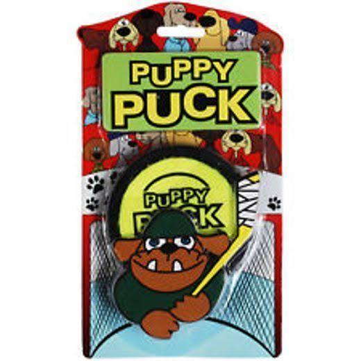 Pet Qwerks Puppy Puck Dog Toy
