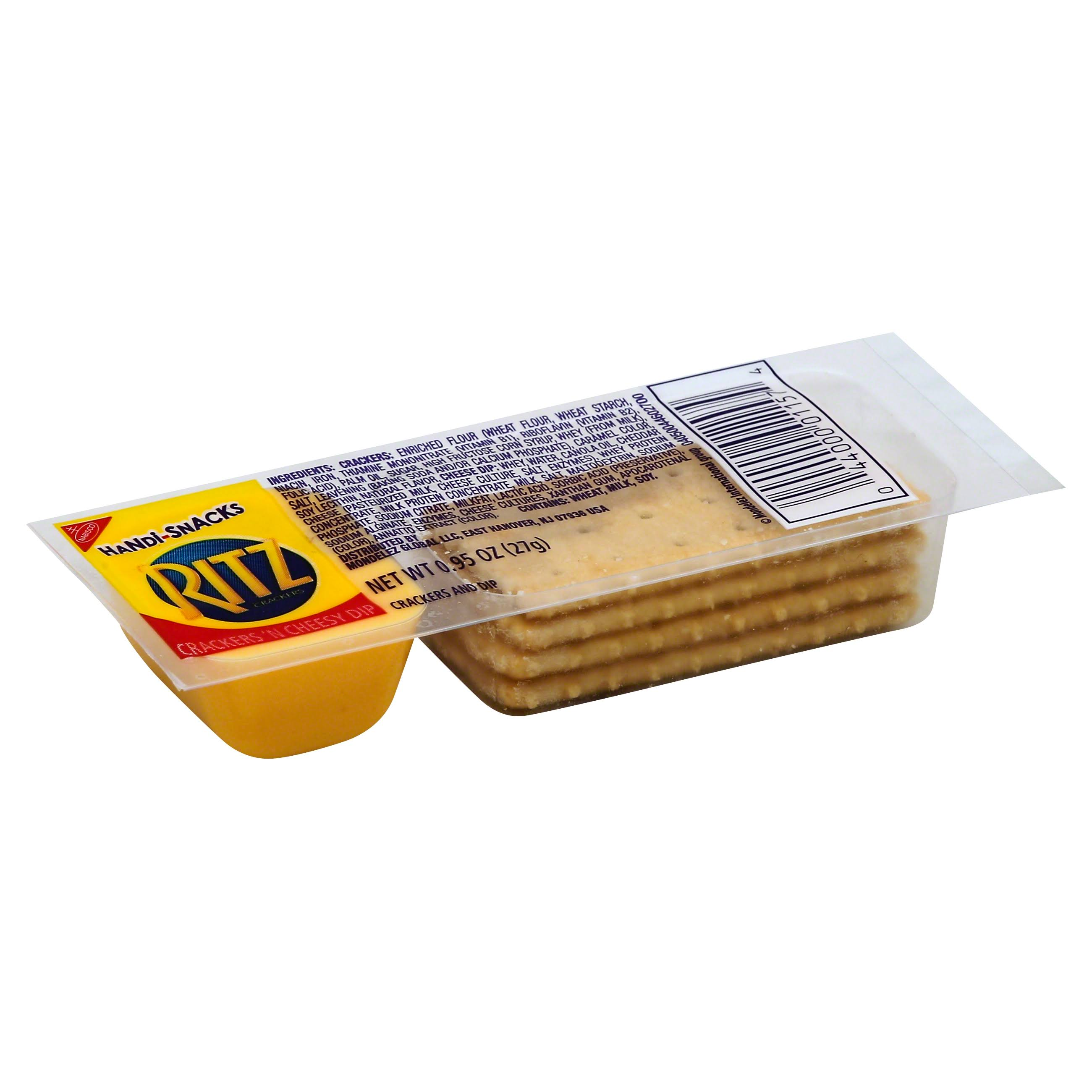 Ritz Cracker And Cheese Dip - 0.95 oz total