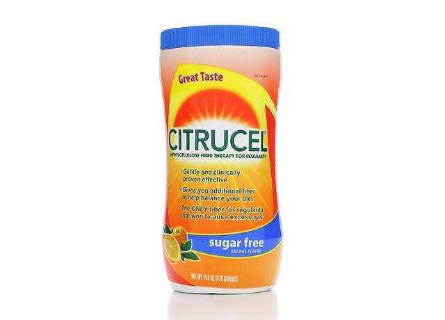 Citrucel Sugar Free Fiber Therapy - Orange, 16.9oz