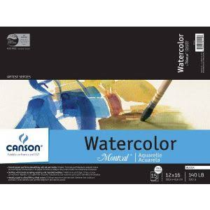 Canson Artist Series Montval Watercolor Pads and Blocks