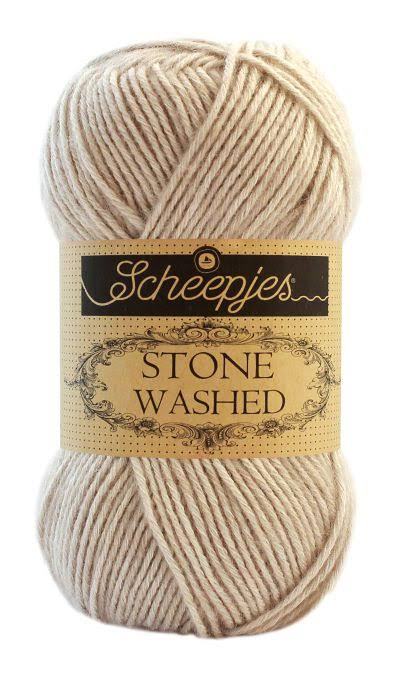 Scheepjes Stone Washed Yarn - 831 Axinite, 50g