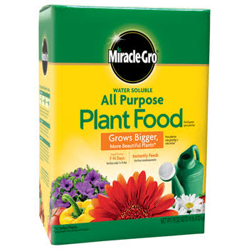 Miracle-Gro Water Soluble All Purpose Plant Food - 10lb