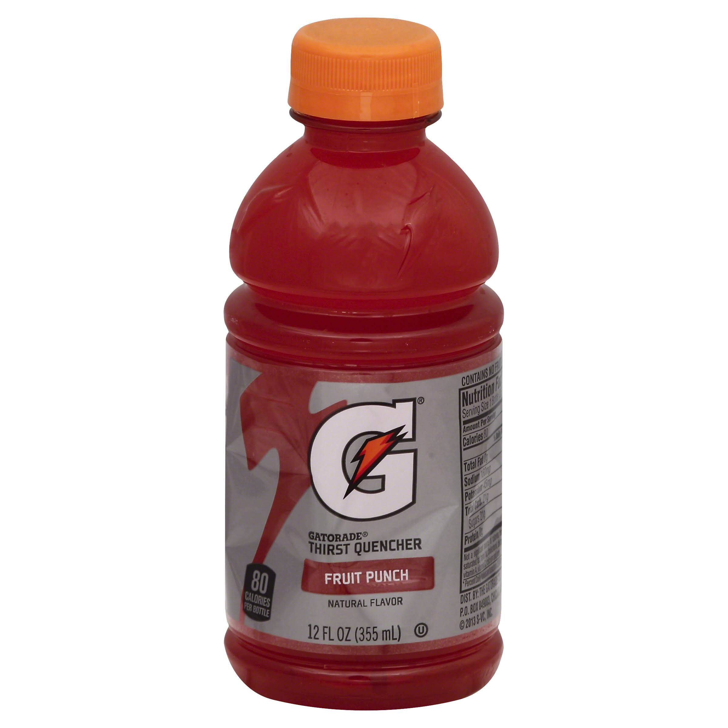 Gatorade G Series Thirst Quencher, Perform, Fruit Punch - 12 fl oz