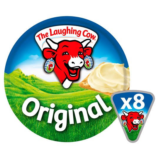 Laughing Cow Original Cheese Spread - 8ct, 140g