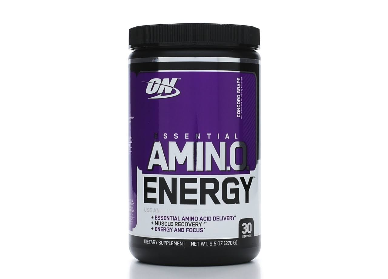 Optimum Nutrition Essential Amino Energy Concord Grape - 30 Servings
