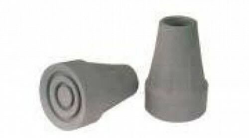 Essential Medical Supply T70034 Crutch Tips 3-4in - Gray