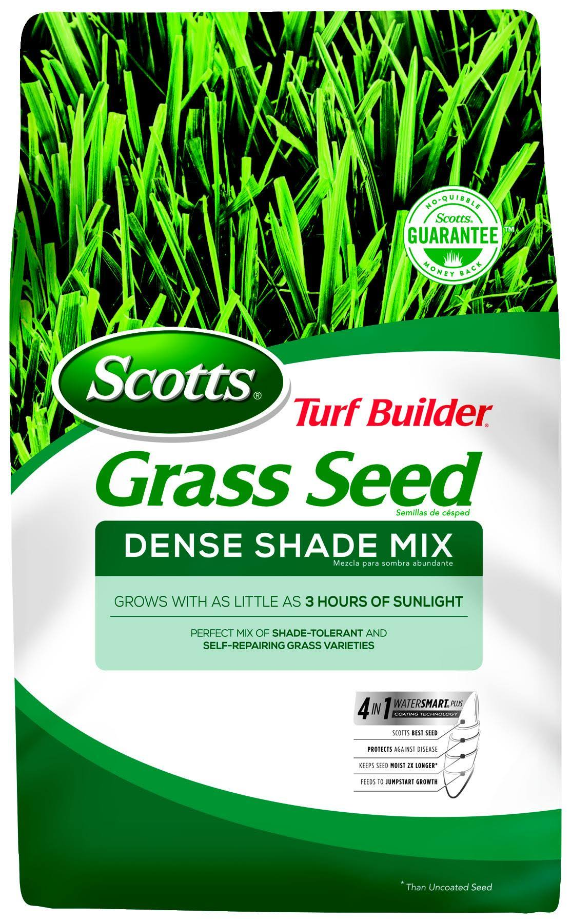 Scotts Turf Builder Dense Shade Mix Grass Seed - 3lb