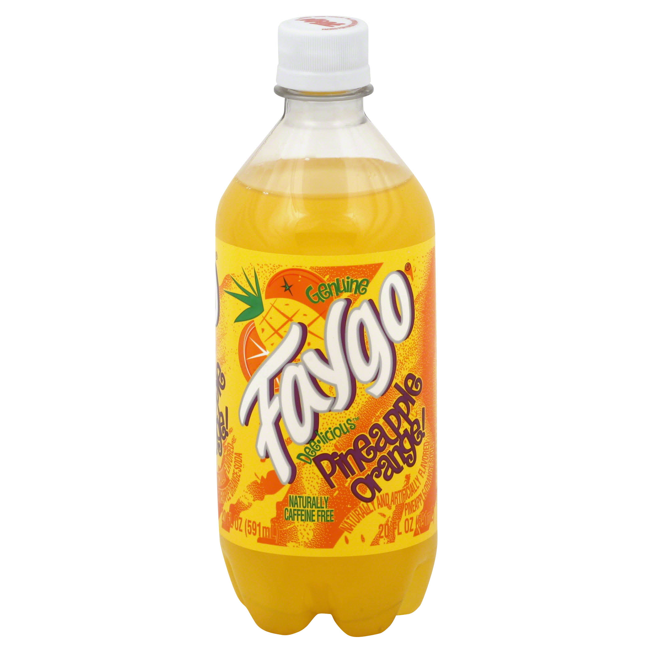 Faygo Pineapple Orange Soda - 20oz