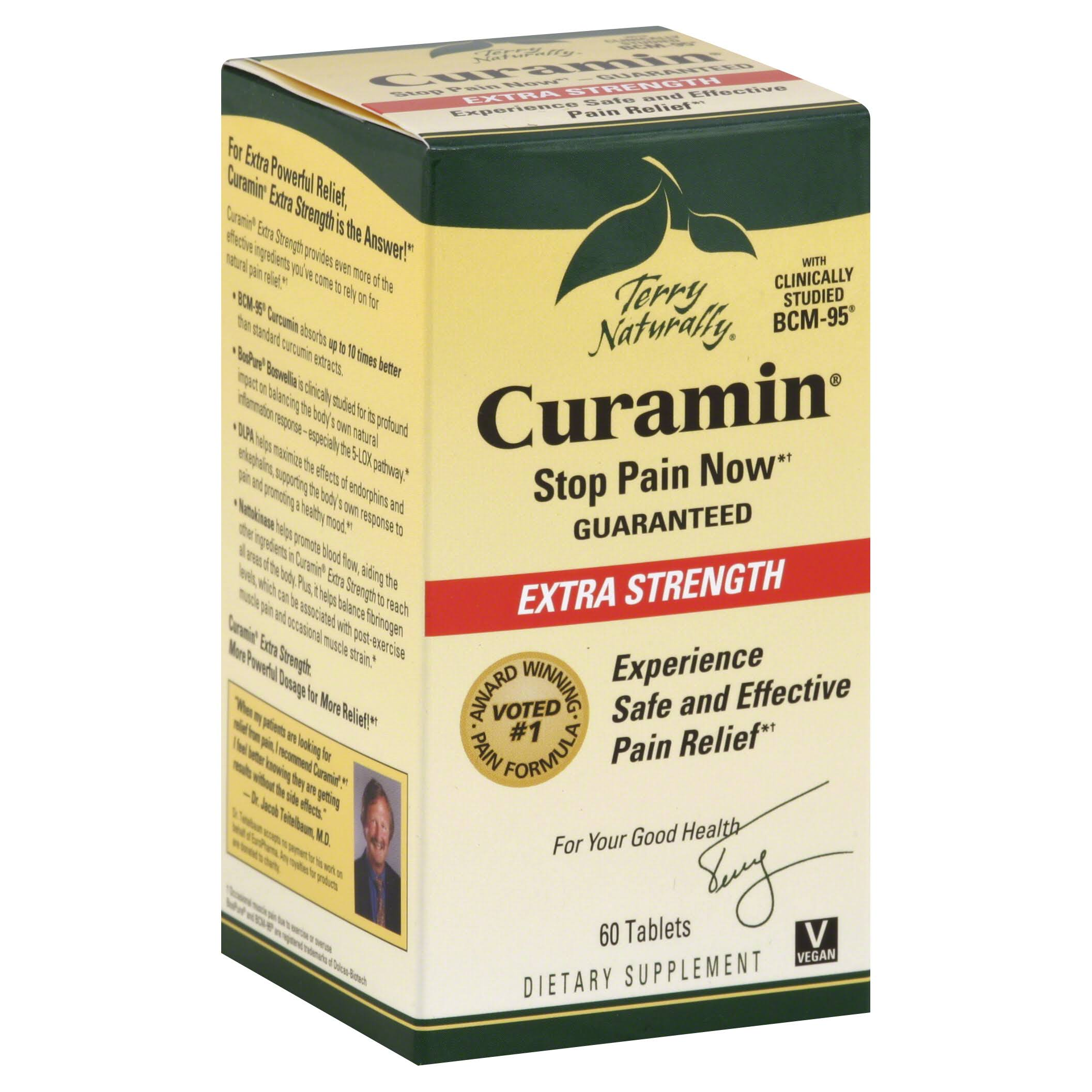 Terry Naturally Curamin - Extra Strength, 60 Tablets