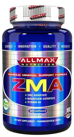 AllMax Nutrition ZMA Capsules - Pack of 90