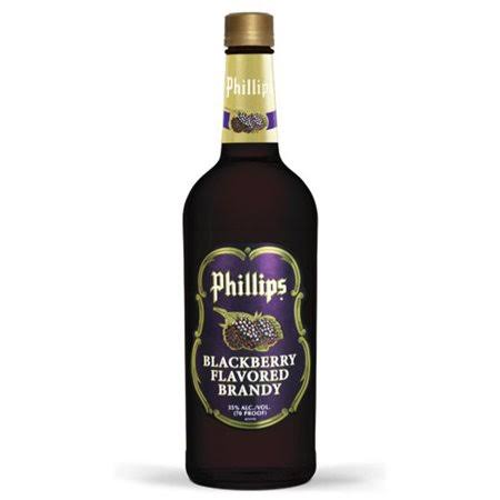 Phillips Blackberry Flavored Brandy - USA