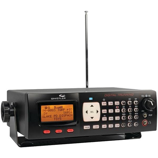 Whistler Digital Trunking Portable Analog Desktop Radio Scanner
