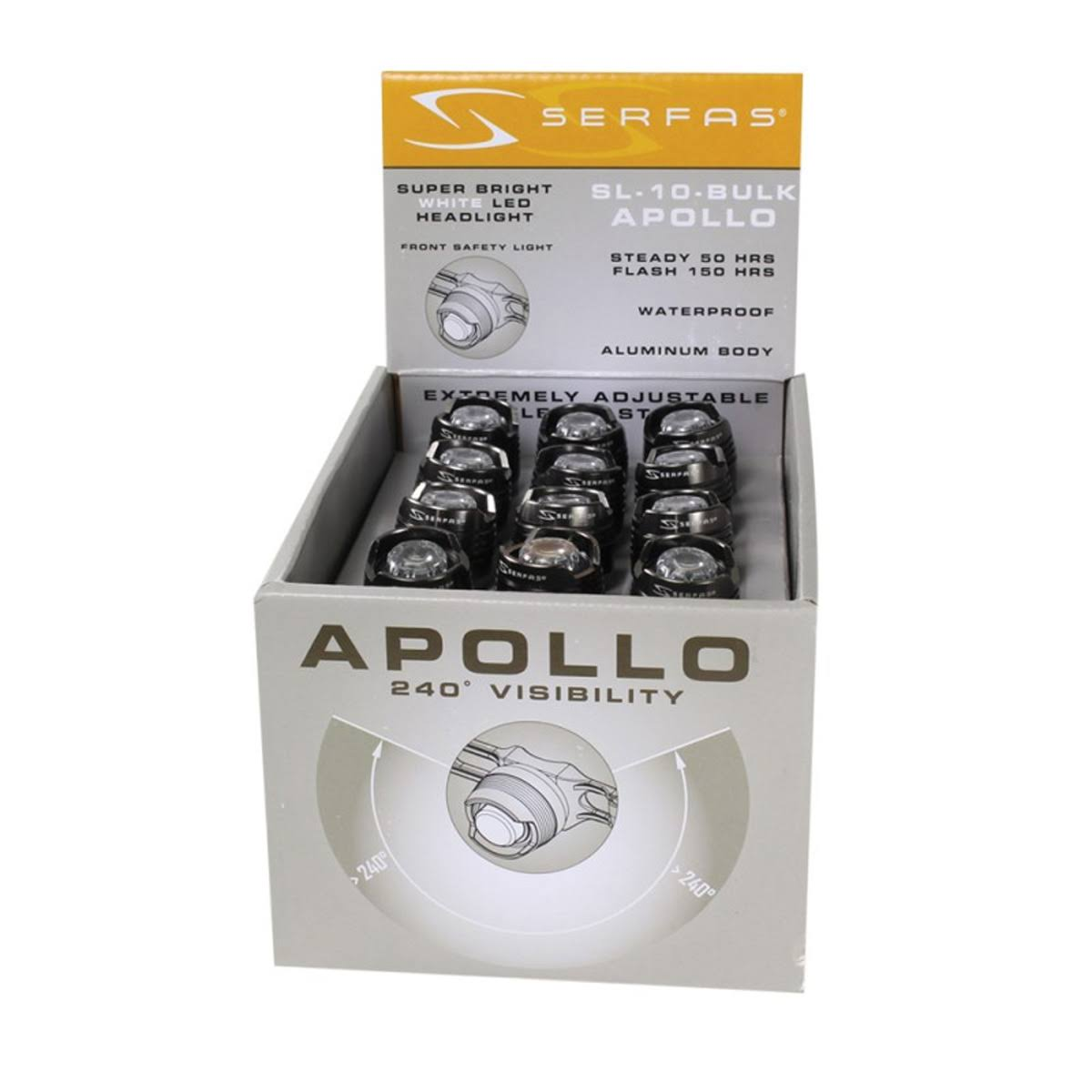 Serfas Apollo Compact LED Headlight