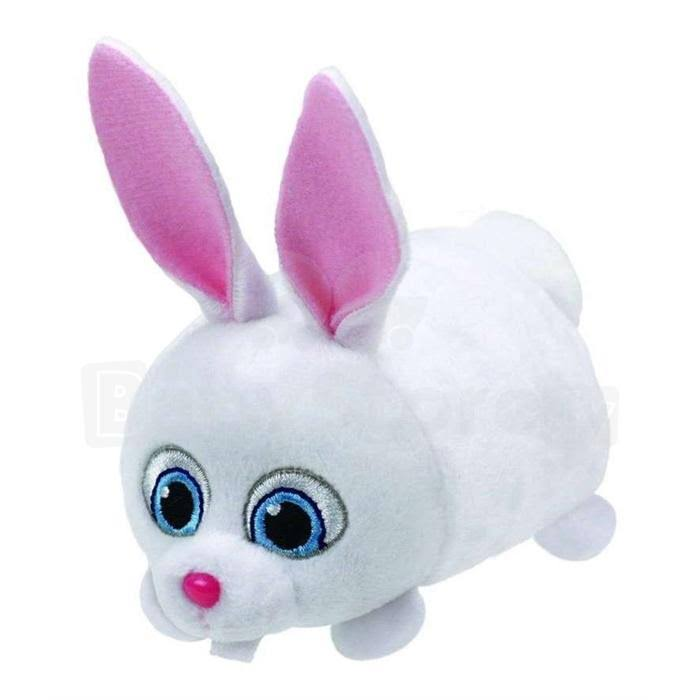 Ty Teeny Tys - Secret Life of Pets - Snowball Bunny