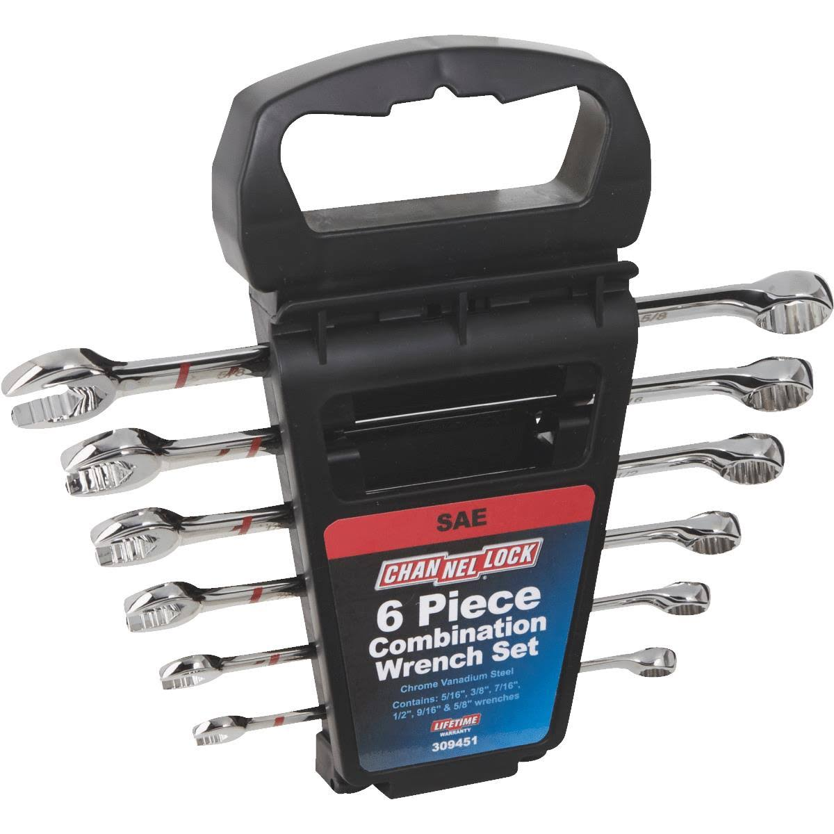 Channellock Products Combination Wrench Set - 6pcs