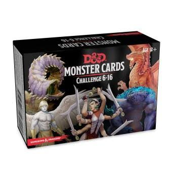 Dungeons & Dragons Spellbook Cards - Monsters 6-16 - D&d Accessory