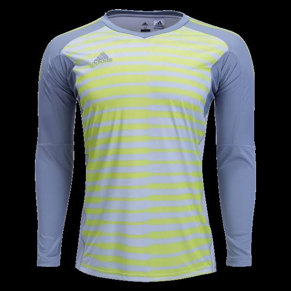Adidas Adipro 18 Long Sleeve Goalkeeper Jersey Grey-Yellow - M