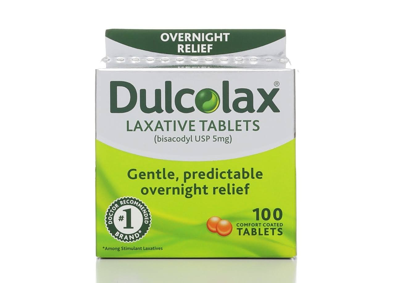 Dulcolax Laxative - 100 ct