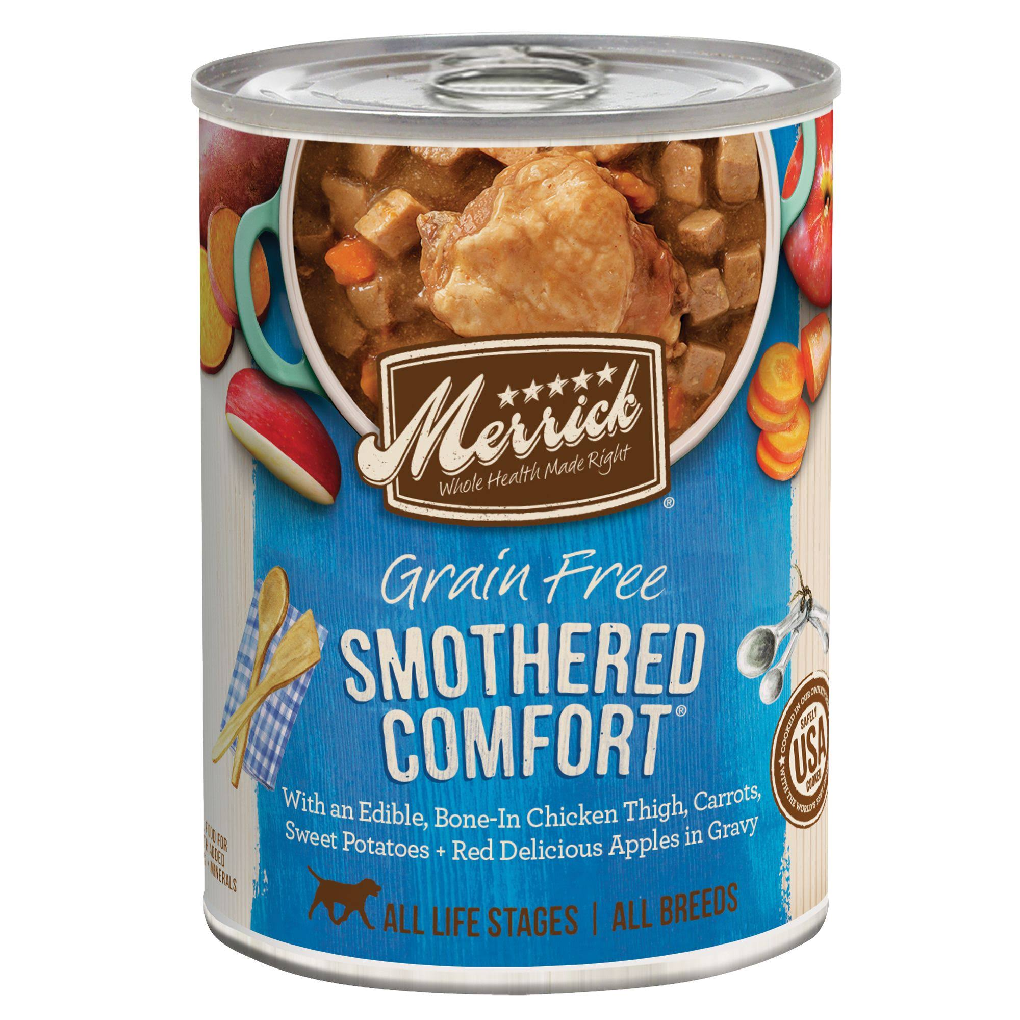 Merrick Smothered Comfort Grain Free Canned Dog Food 12.7oz