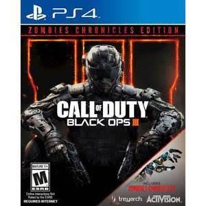 Call of Duty Black Ops III: Zombie Chronicles Edition - Ps4