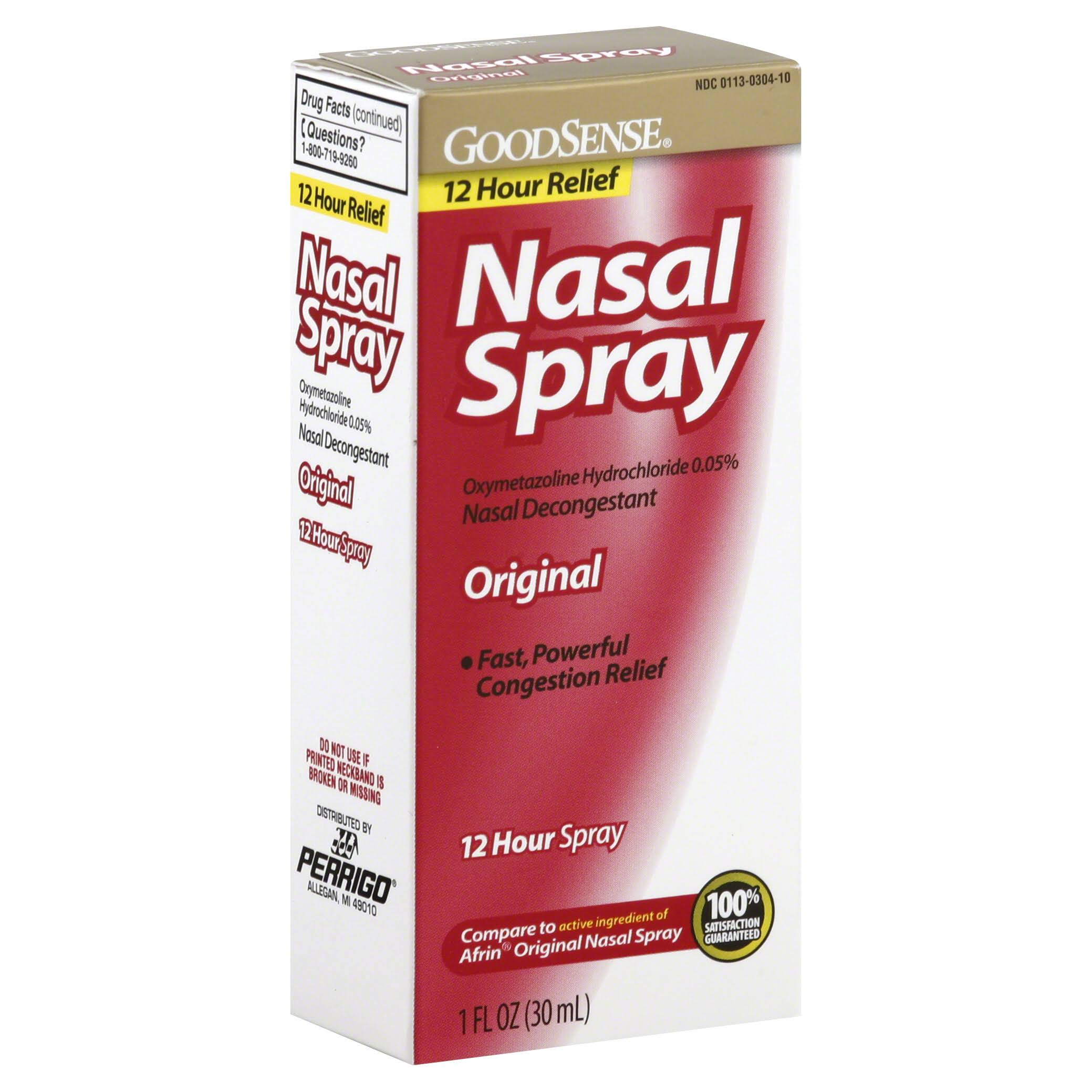 GoodSense Nasal Spray, Original - 1 fl oz