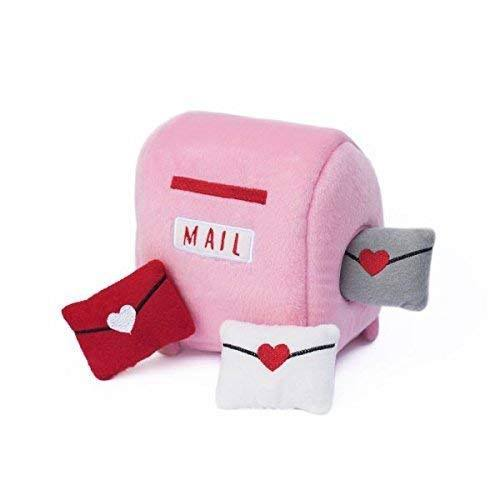 ZippyPaws Burrow Dog Toy - Mailbox and Love Letters - One Size