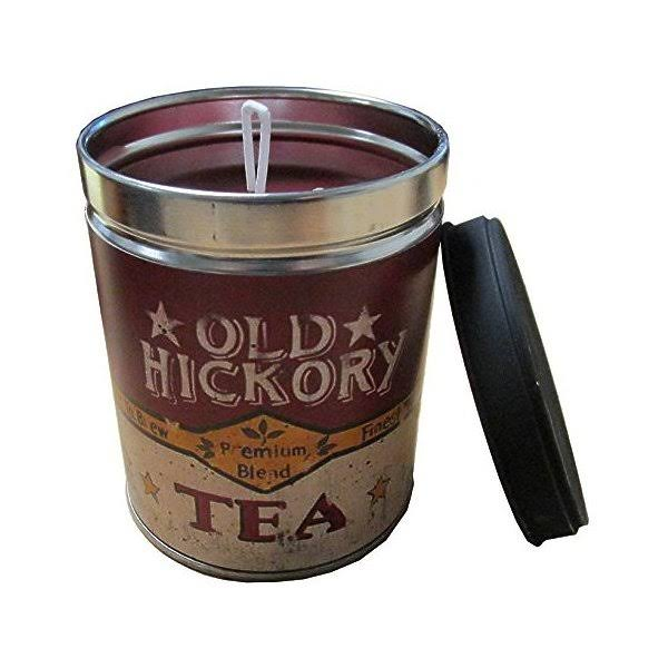 Our Own Candle Company Sweet Tea & Lemon Scented Candle in 13 Ounce Tin with A Old Hickory Tea Label by Linda Spivey