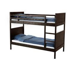 Ikea Flaxa Bed by Norddal Bunk Bed Frame Black Brown Bed Frames Bunk Bed And Room