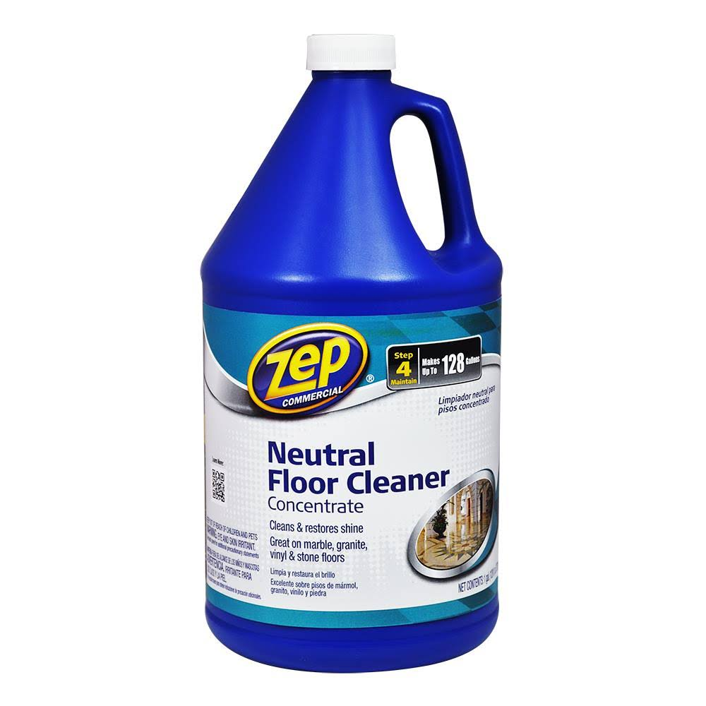 Zep Zuneut128 Neutral Floor Cleaner Concentrate - 128oz