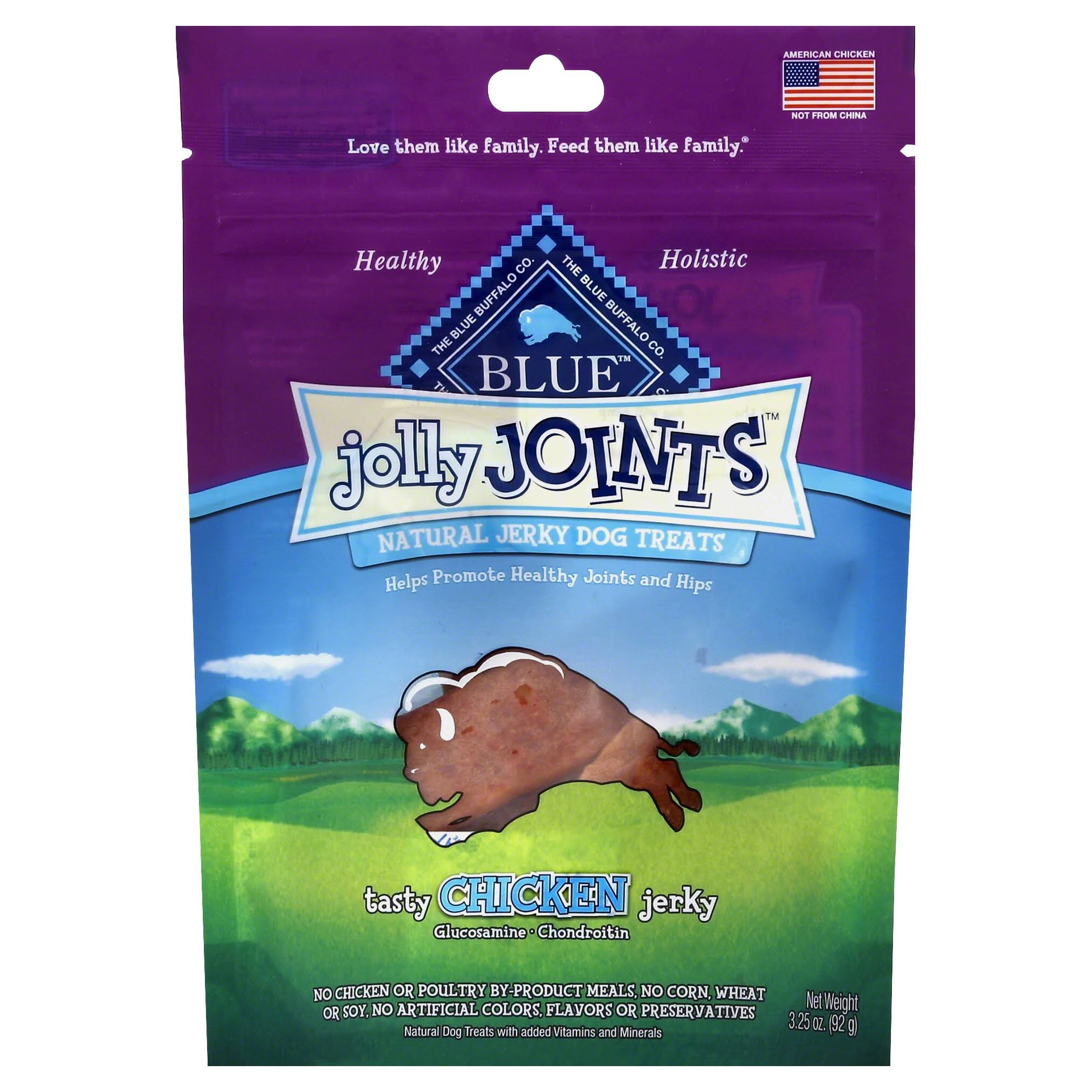 Blue Buffalo Jolly Joints Natural Jerky Dog Treats - 92g