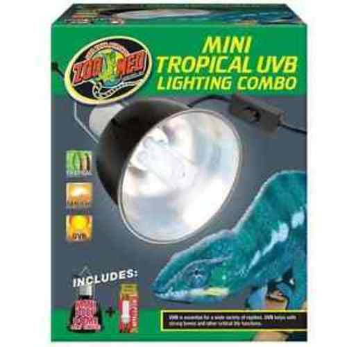 Zoo Med Combo Tropical UVB Lighting - Mini