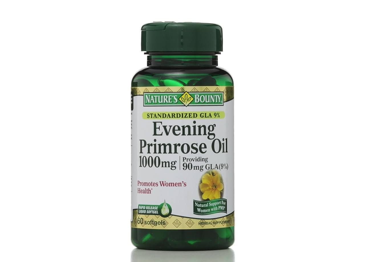 Nature's Bounty Evening Primrose Oil Herbal Supplement - 60 Softgels